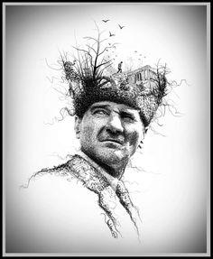 Mustafa Kemal Atatürk Desing By ilhan Kalava