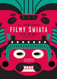Filmy Swiata by Cartel Polaco Creative Posters, Cool Posters, Teen Nail Art, Poster On, Poster Prints, Festival Image, Poster Design Inspiration, Poster Ideas, Festival Posters