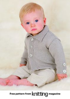 Baby Sewing Patterns Free: love this, but I can't knit