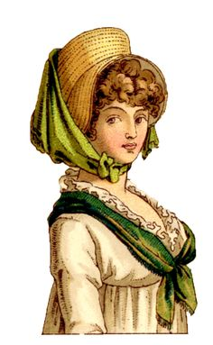 Vintage Graphics - More French Costume Ladies - The Graphics Fairy