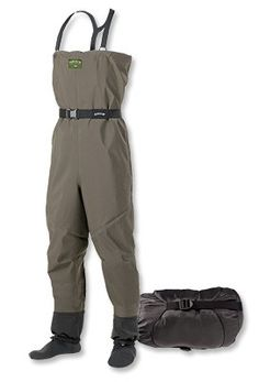 Orvis Pack & Travel Waders.  Orvis has a great line up of waders whether I have them all pictured here or not.
