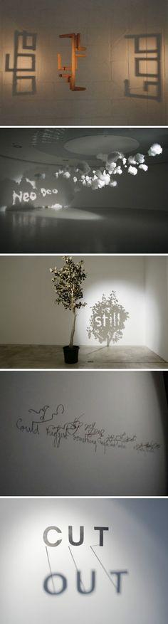 【影子创意】来自比利时艺术家Fred Eerdekens的作品。