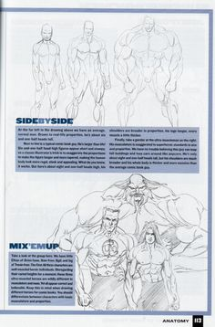 """brown_betty asked for examples """"to illustrate the exactly how and why female comic characters are illustrated differently than the male."""" And I thought, really, what's better to illustrate these things than the books teaching the style in the first place? A while ago I posted some scans from…"""