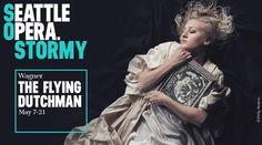 Seattle Opera: The Flying Dutchman, May 7 – 21, 2016 at McCaw Hall. #McCawHall #SeattleOpera #Seattle