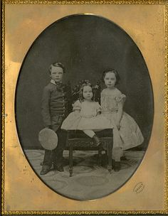 All sizes | Three Children - Whole Plate Brady Ambrotype | Flickr - Photo Sharing!