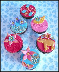 Deliciously Deluxe - Bollywood Mini cupcakes by Funky Earth Matter (Jo), via Flickr