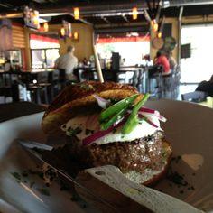 Yummm ...one of our great Niman Ranch burgers at #Bar145! #Gastropub