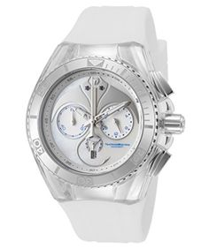USE:  Technomarine Tm 115068 Womens Cruise Dream Chrono White Satin And Mop Dial Watch