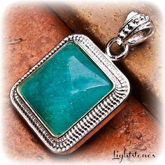 HEMIMORPHITE Silver Copper Pendant  Reiki by LightstonesCrystals, $19.99