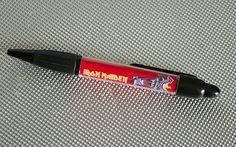 Great Iron Maiden Ballpoint Pen by WeeHings on Etsy Iron Maiden, Ballpoint Pen, Music, Etsy, Vintage, Musica, Musik, Muziek, Vintage Comics