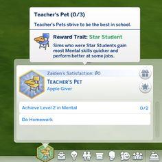 Lana CC Finds — Teacher's Pet Aspiration by jackboog21 (Sims 4)...