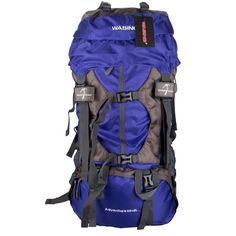WASING 55L Internal Frame Backpack Hiking Backpacking Packs for Outdoor Hiking Travel Climbing Camping Mountaineering with Rain Cover WS-55Lpack -- Click image to review more details.