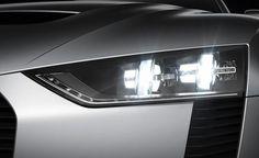 Audi Quattro concept headlight