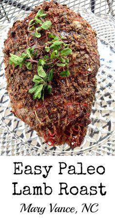 Easy Lamb Roast - Mary Vance, NC