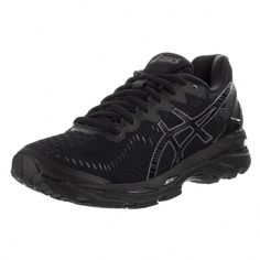 a9a9fb19895f Asics Women s Gel-kayano 23 Black Textile Running Shoes