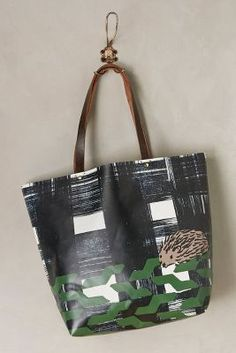 Roaming Hedgehog Tote