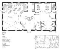 Risultati immagini per famous restaurant layout plan