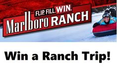 Marlboro is out with another new instant win game. This one is called, MARLBORO Flip, Fill, Win Instant Win Game and Collect & Win a Ranch Trip. You could instantly win a camera, goggles, headlamp, …