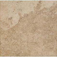 Del Conca�18-in x 18-in Roman Stone Noce Thru Body Porcelain Floor Tile (Actuals 18-in x 18-in)