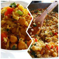 Jamaican Pumpkin Seasoned Rice