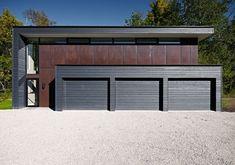 Detached Garage Cost, Detached Garage Designs, Garage Door Design, Garage Doors, Garage House, Top Garage, Country House Design, Modern House Design, Building Design