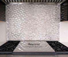 super simple diy tile backsplash, home decor, kitchen backsplash, kitchen design, tiling, wall decor, Close up of the stove backsplash