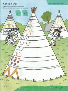 Preschool Art Activities, Drawing Activities, Art For Kids, Crafts For Kids, Drawing For Kids, Maternelle Grande Section, Wild West Theme, Indian Crafts, Elementary Art