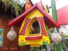 Самые оригинальные скворечники Happy New Year 2015, Bird, Outdoor Decor, Nature, Home Decor, Naturaleza, Decoration Home, Room Decor, Birds