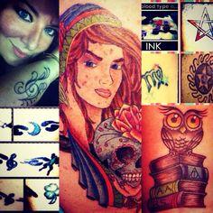 :) Portrait, Tattoos, Tat, Tattoo, Tattooed Guys, Paintings, Portraits, A Tattoo, Tattoo Designs