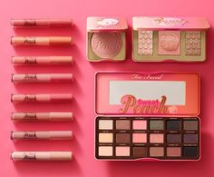 BREAKING NEWS: Sweet Peach is back and better than ever! Say hello to the brand new Sweet Peach Collection launching on toofaced.com on December 14th! #tfsweetpeach #toofaced