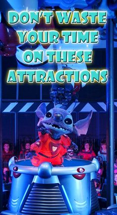 My thoughts on the worst attractions in each of the 4 theme parks