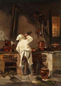 Chef, Pintor Anônimo