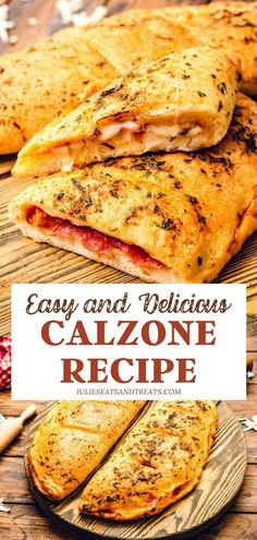 CALZONE RECIPE - Ending the week has never been this fun! Add a twist to your pizza night with Calzone Recipe.
