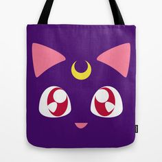 Sailor Moon Luna Tote BAG Handbag | eBay