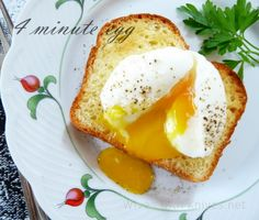 We are always experimenting with the time it takes to make the perfect soft boiled egg.  These look fantastic!