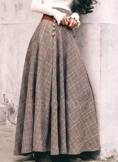 Shop Floryday for affordable Skirts. Floryday offers latest ladies' Skirts collections to fit every occasion. Modest Outfits, Skirt Outfits, Modest Fashion, Cool Outfits, Fashion Dresses, Vintage Dresses, Vintage Outfits, Vintage Fashion, Womens Fashion Online