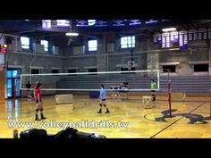 Zone Hitting Drill:  Improve your kill percentage with this attack selection volleyball drill