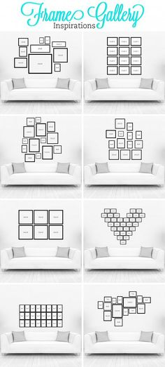 Gallery Wall Ideas to Transform Any Room :: Hometalk #gallerywall #wallart #homedecor
