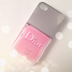 Dior iPhone case #ohsohip #tutu