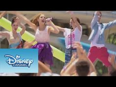 Violetta: Video musical Ven y canta - YouTube