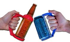 Grip Party Pack - 4 Can Grips + 2 Bottle Grips. Pinned by ottoolkit.com your source for geriatric occupational therapy resources.