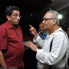 Feluda + Feluda : Soumitra Chatterjee, Sabyasachi Chakrabarty,  Site: http://iamhijibijbij.blogspot.in/
