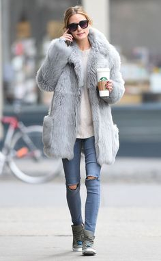 Olivia Palermo from The Big Picture: Today's Hot Pics  The fashionista keeps it cazh 'n' chic in Brooklyn.