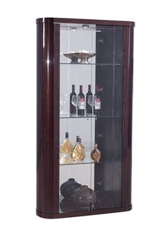 Shop Series Kokuten Wood Vetrina with great price, The Classy Home Furniture has the best selection of to choose from Dining Room Sets, Dining Room Chairs, Dining Room Furniture, Home Furniture, Traditional Furniture, Room Themes, Liquor Cabinet, Storage, Wood
