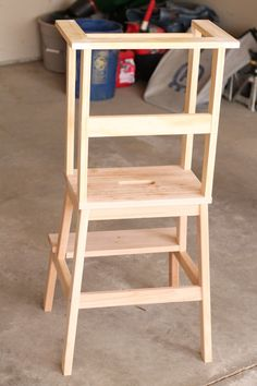 Why We Recommend Building Matilda's Activity Tower - Ikea DIY Wood Projects For Beginners, Woodworking Projects For Kids, Popular Woodworking, Woodworking Furniture, Diy Wood Projects, Diy Woodworking, Kids Furniture, Furniture Stores, Toddler Kitchen Stool