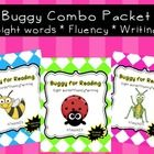 Get all 3 levels of Buggy for Reading (pre-primer, primer, and first level) in this bundle packet.  Each level is aligned with Common Core standards.  $
