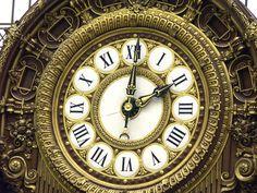 Clock Orsay Paris