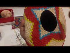 Wayuu çanta başlangıç, ip ve tığ seçimi - YouTube