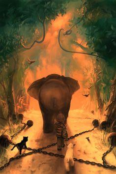 I don't come from...a jungle by AquaSixio.deviantart.com on @DeviantArt