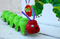 deko selber machen aus eierschachteln farbige figurchen kreieren